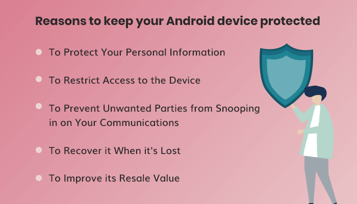keep your Android device protected