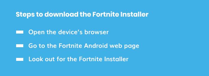 How to download fortnite Installer
