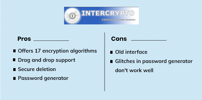InterCrypto Advanced Encryption