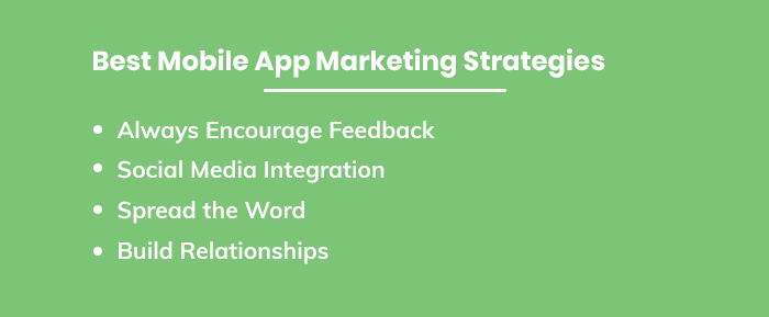 Best Mobile App Marketing Strategies