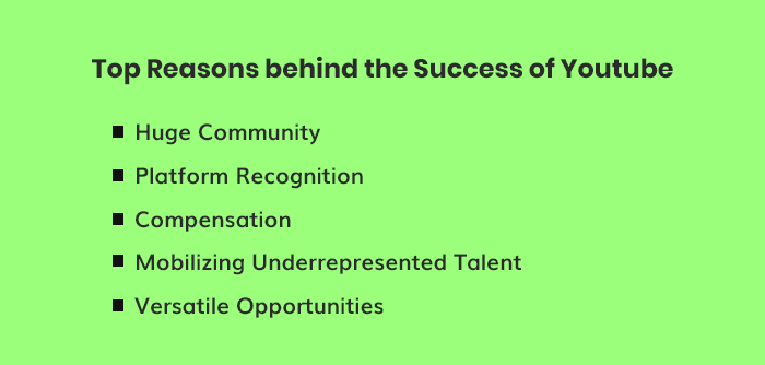 Reasons Behind YouTube's Success