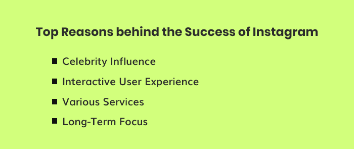 Reasons Behind Instagram's Success
