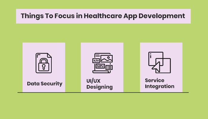 Things To Focus in Healthcare App Development