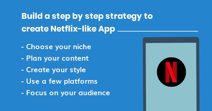 Create Netflix App - MobileAppDaily