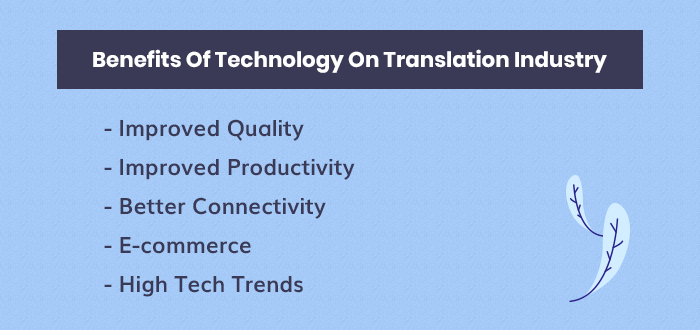Technology On The Translation Industry