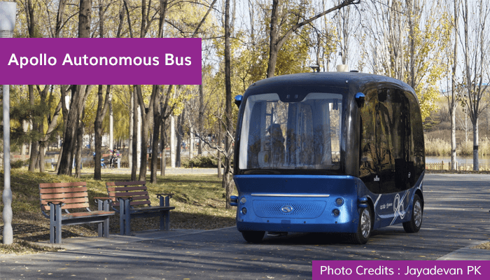 Apollo Autonomous Bus