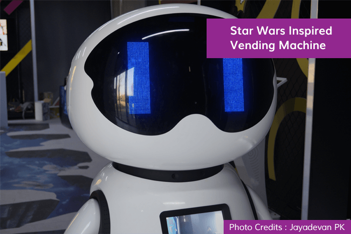 . Star Wars Inspired Vending Machine