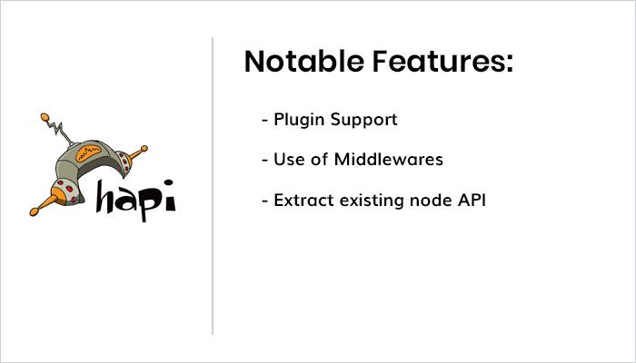 Features of Hapi.js