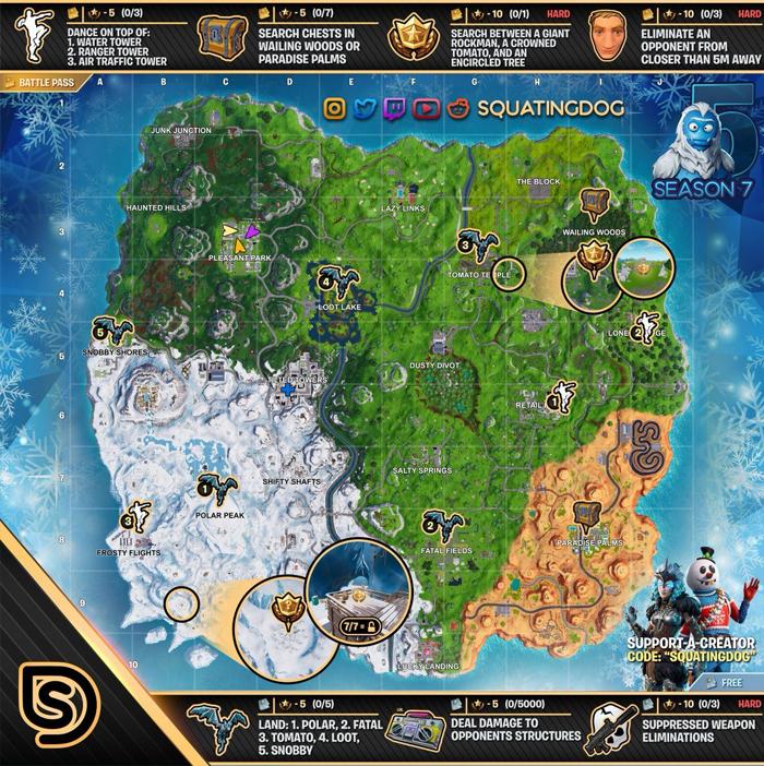 Fortnite Map