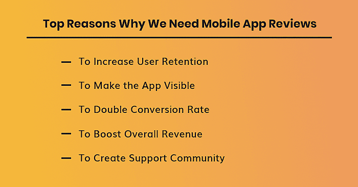 Mobile App Review importance
