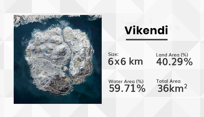 PUBG Vikendi Map and loot locations