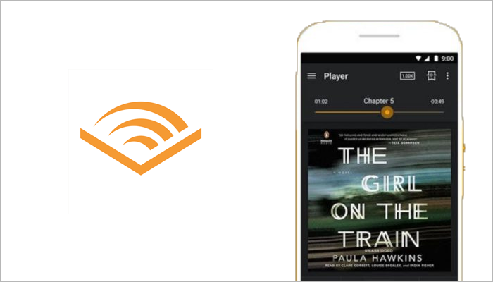 Audible audiobook app