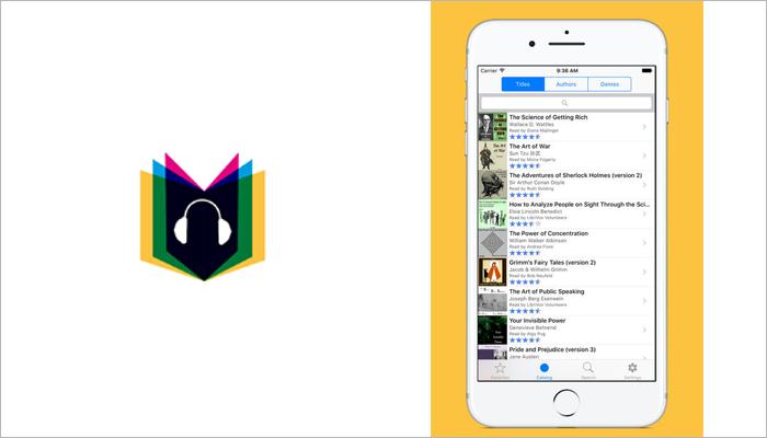 LibriVox audibook app