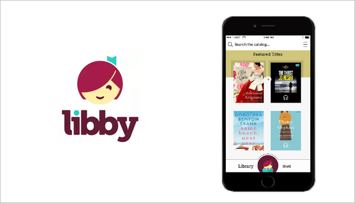 Libby audiobook app