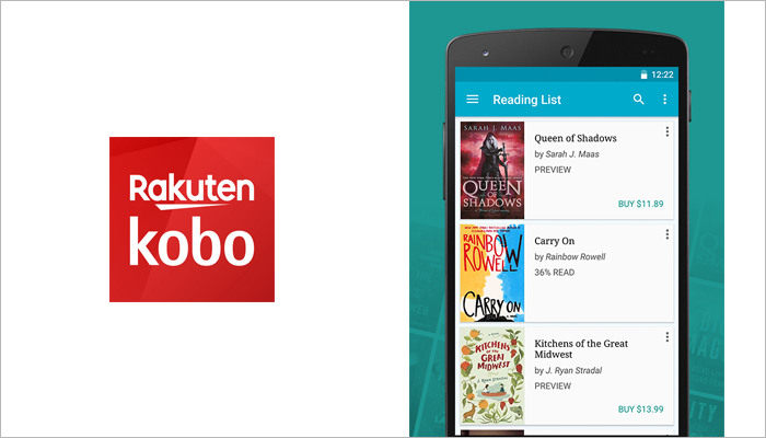 Kobo Books audiobook app