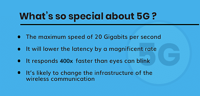 Special about 5G