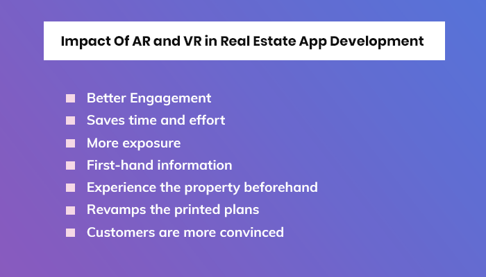 Impact Of AR and VR in Real Estate App Development