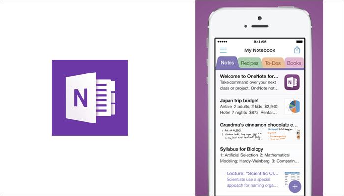Microsoft OneNote - Best android and mac notebook app