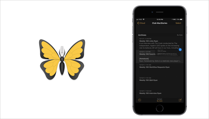 Ulysses - iOS Note taking app