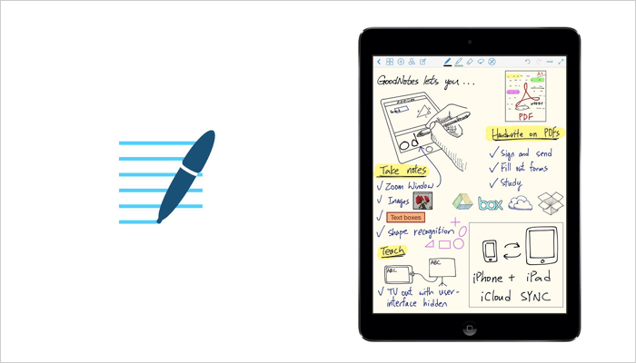 GoodNotes - iPhone Note taking app