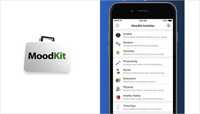 Mood Kit - Mobile App For Mental Health