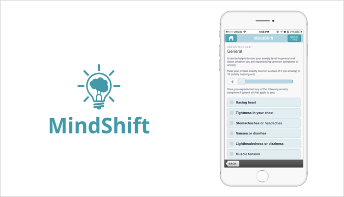 Mind Shift - Mobile App For Mental Health