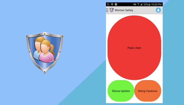 Women Safety - Mobile App
