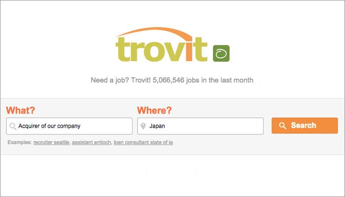 Trovit - Website