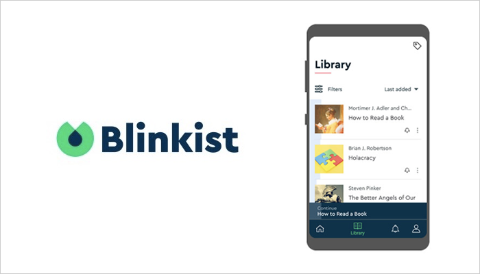 Blinkist - Mobile App