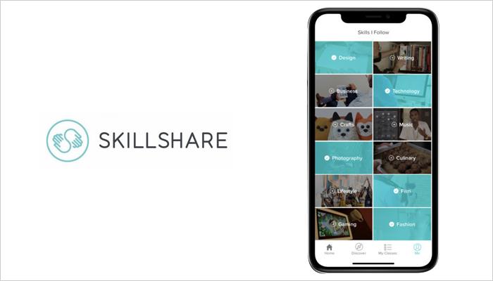 Skillshare - Mobile App