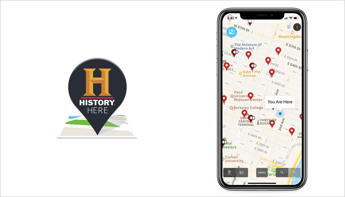 History Here - Mobile App