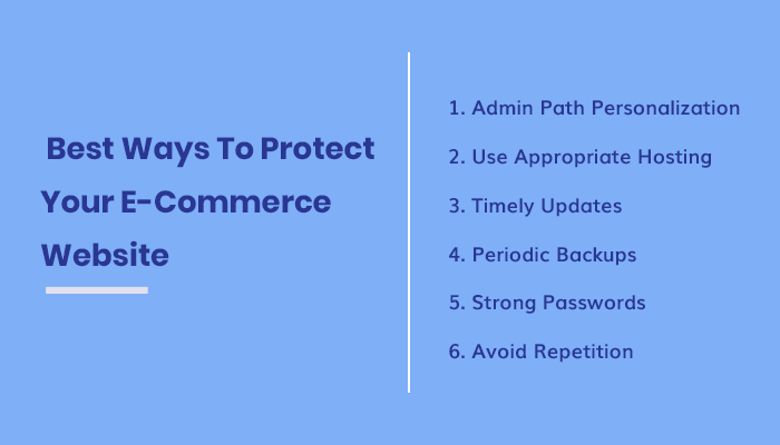Best Ways To Protect Your E-Commerce Website