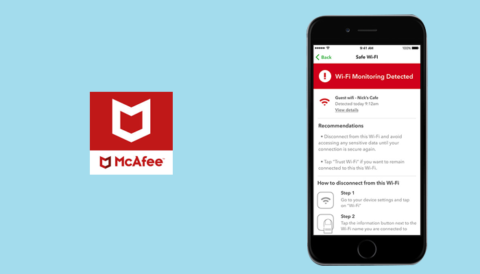 McAfee - Security App For iOS Device