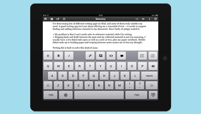 Writing Kit - Essay Writing App