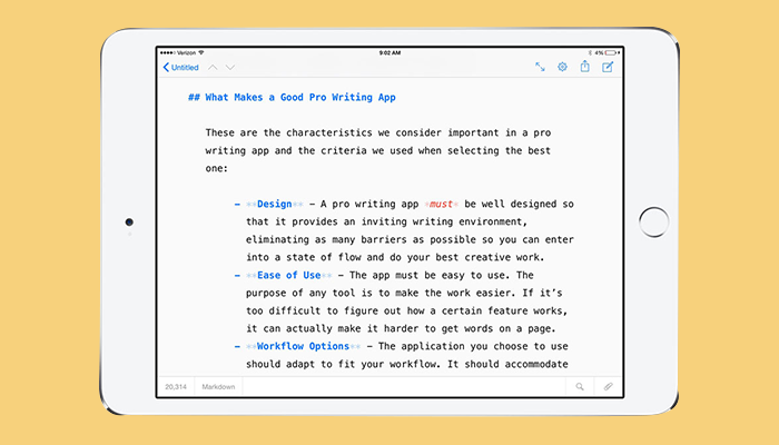 iA Writer - Essay Writing App