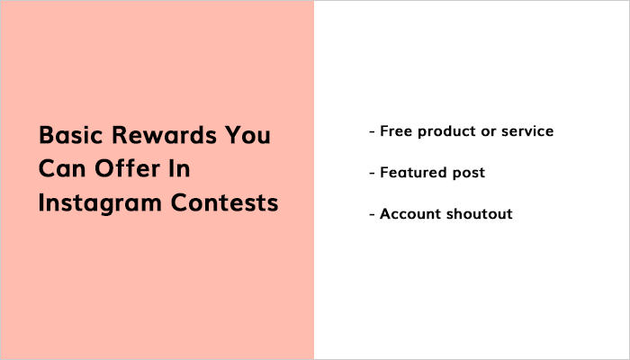 Basic Rewards You Can Offer In Instagram Contests