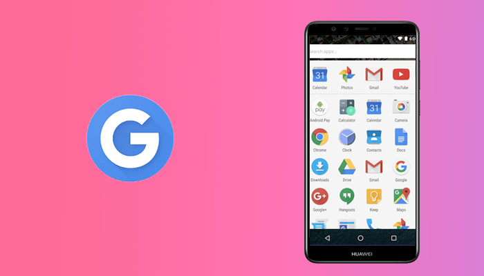 Google Now Launcher - Android App Launcher