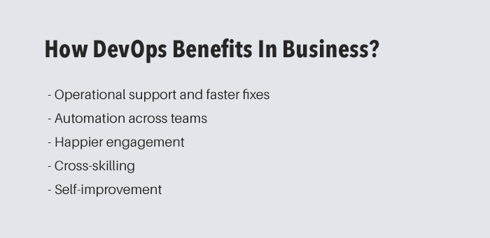 How DevOps Benefits In Business?