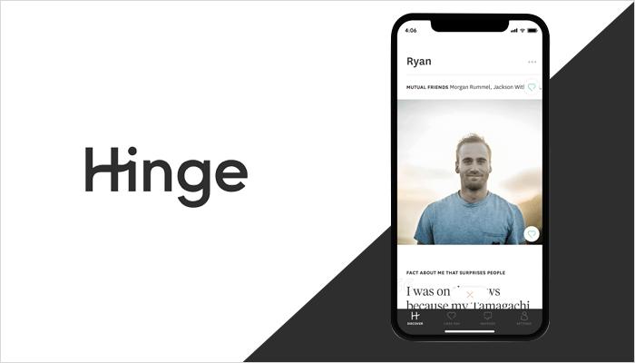 Hinge - Apps Similar to Tinder