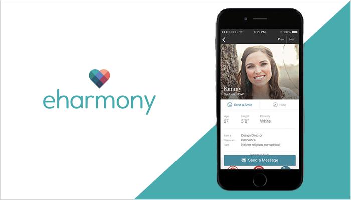 eHarmony - Free Apps Like Tinder