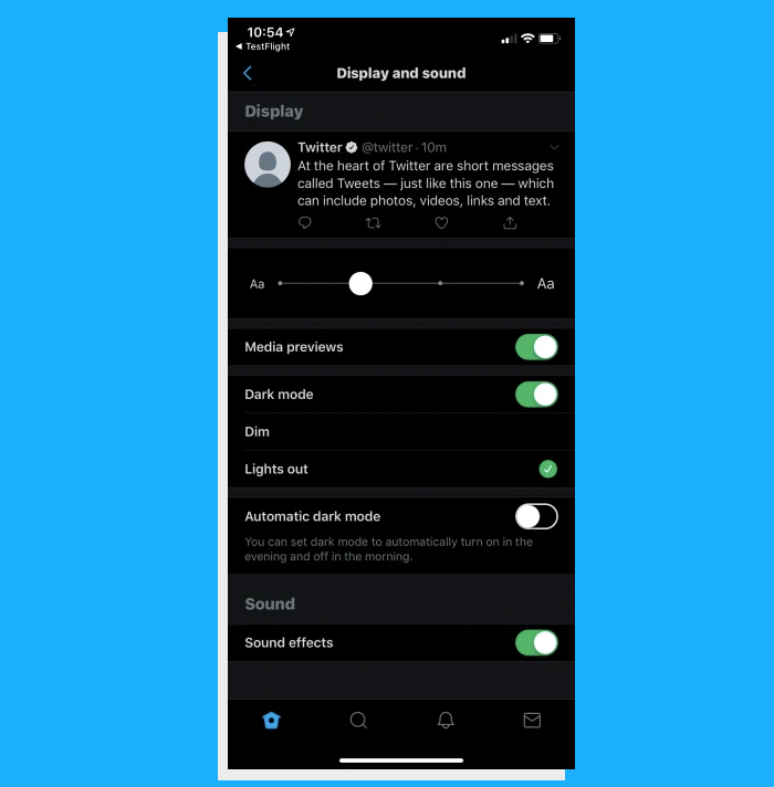 Twitter New Prototype App