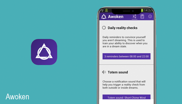 Awoken sleep analysis app