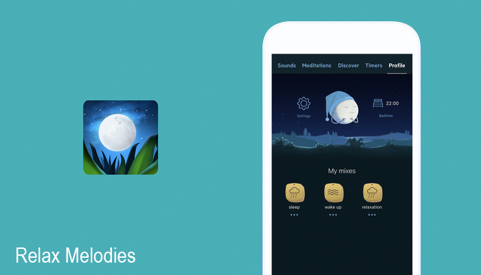 Relax Melodies sleep tracker app