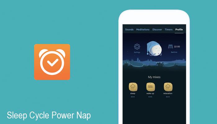 Sleep Cycle Power Nap sleep monitor app
