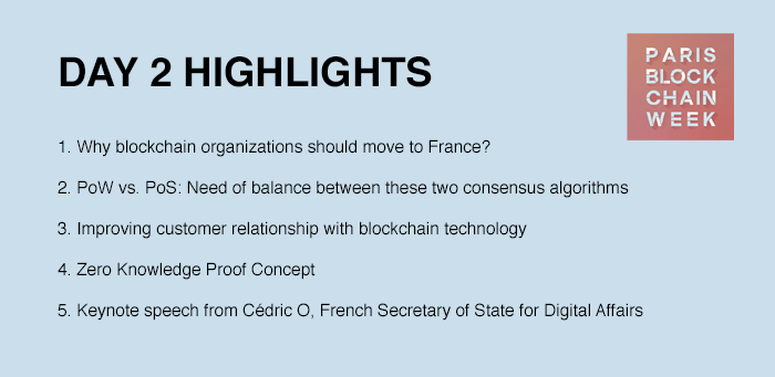 Paris Blockchain Week Summit 2019