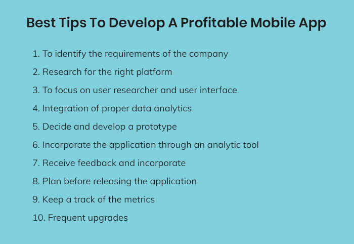 Develop a Profitable App