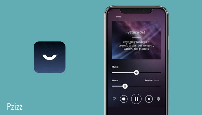 Pzizz sleep monitor app