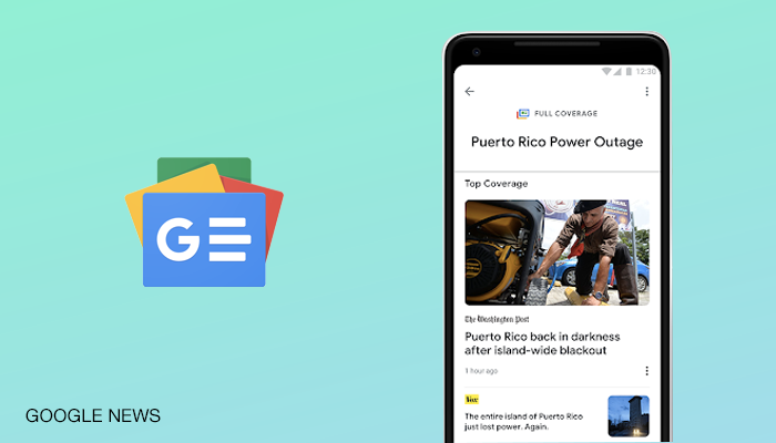 Google News Android App