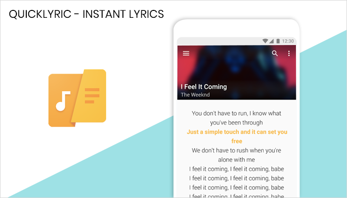 QuickLyric - Lyrics App