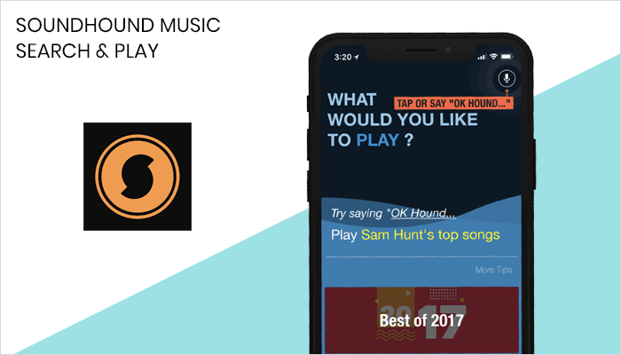 Soundhound Music Search - Lyrics App